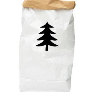 PAPER-BAG-fir-tree-black-B