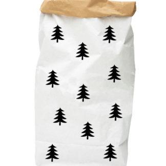PAPER-BAG-fir-trees-black