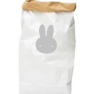 PAPER-BAG-rabbit-grey
